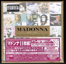Sealed!! MADONNA The Complete Studio Albums 83-08 EU 11CD Box JAPAN STICKER-OBI
