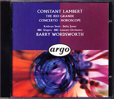 Constant Lambert Horoscope piano concerto the Rio Grande Stott Wordsworth CD
