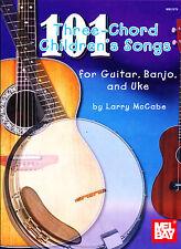 101 Three-Chord Children's Songs for Guitar, Banjo, and Uke