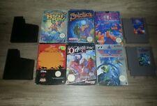 Nintendo Entertainment System Spiele Sammlung NES (OVP's mit und ohne spiele)