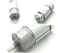 12V DC 1000RPM 2000mA  Replacement Torque Gear Box Motor 37GB 37MM 2A 0.5kg.cm