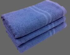 Blue 12 Pack Hand Towels 400 Gsm