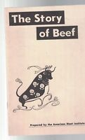 The Story of Beef American Meat Institute Booklet 1959