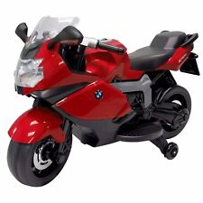 Ride On Toy BMW Motorcycle Red 12v Battery Powered Motorbike for Kids to Ride