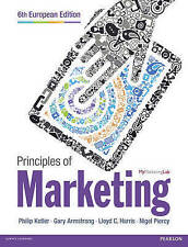 Principles of Marketing Paperback Book 6 Edition by Philip Kotler,Gary Armstrong