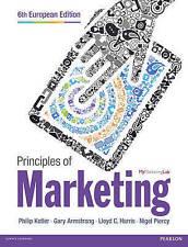 Principios De Marketing Libro De Bolsillo 6 edición Por Philip Kotler, Gary Armstrong