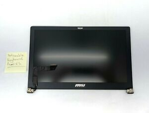 """MSI GS63VR Genuine 15.6"""" Complete LCD Screen Assembly"""