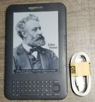 Amazon Kindle Keyboard (3rd Generation) D00901, WiFi, eReader ~Excellent~