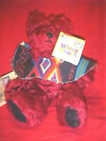 """SIGNED, Sally Winey VINTAGE Mohair Bear, """"SERENADE"""" WITH TAGS"""