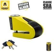 Antivol bloque disque + Alarme AUVRAY B-LOCK 10 SRA Moto Scooter Homologué 120db