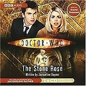 DOCTOR WHO : THE STONE ROSE - BBC AUDIO BOOK - FAST POST - COMPLETE NEW & SEALED