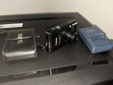 Canon PowerShot Digital ELPH SD940 IS with charger & leather case