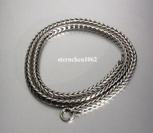 Trollbeads * Silber - Halskette Kette * Silver - Necklace * 38 cm - 80 cm