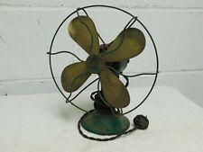"Vintage rare untouched SIGNAL ELECTRIC MFG.Co. ""COOL SPOT"" Type 150 desk fan !!!"