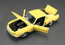 ACME 1968 FORD SHELBY MUSTANG GT350 YELLOW WT 6066  DIECAST CAR 1:18 A1801806