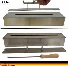 4 litre de brûleur éthanol Inox, pour l éthanol et gel des cheminées Caminetti