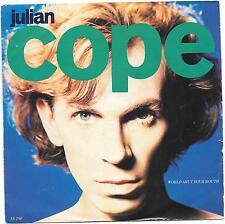 "Julian Cope 7"" Single World Shut Your Mouth/Umpteenth Unnatural Blues IS 290"