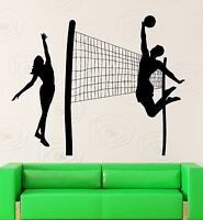 Wall Stickers Vinyl Decal Beach Volleyball Sports Leisure Health (ig1865)