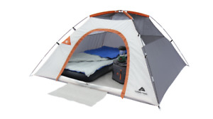 CAMPING TENT Beautiful Ozark Trail 3-Person Camping Dome Tent