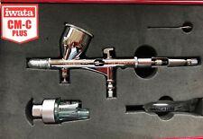 Iwata Custom Micron CM-C Plus (version 2) airbrush IW-CM-C2- CASED + FREE GIFT