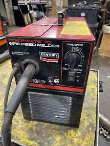 CENTURY wire MIG welder