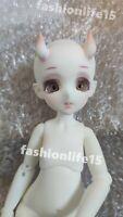 1/6 Bjd Doll Girl Anime Free Face Make UP+Eyes Resin Figure Toys Gift White Skin