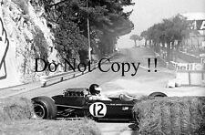 Jim Clark Lotus 33 Monaco Grand Prix 1967 Photograph 1