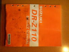 OEM Suzuki DR-Z110 DRZ110 DRZ 110 99500-41130-01E Service Manual Book