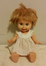 Baby Face Doll Galoob #10 Blonde 1990 Heads Loose