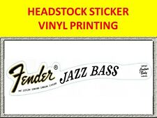 FENDE JAZZ BASS VINYL PRINTING HEADSTOCK VISIT OUR STORE WITH MANY MORE MODELS