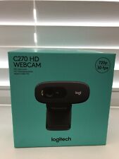 Logitech C270 HD Webcam (BNIB)