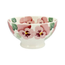 Emma Bridgewater Pink Pansy French Bowl NEW