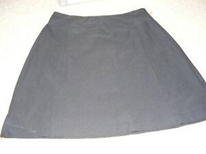 WOMEN'S M LUCY BRAND VITAL SKIRT GOLF BNWOT GOLFING TENNIS CASUAL BLACK A-LINE