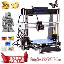 3D Printer Aviation Board Prusa i3 A8 Reprap MK8 Extruder Heatbed 220*220*240MM