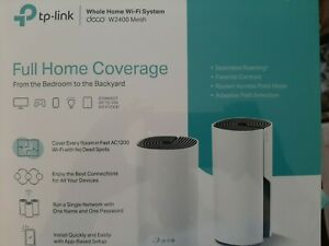 FACTORY SEALED TP-LINK Deco W2400 2-Pack AC1200 Whole Home Mesh WiFi System