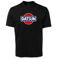 New Black Datsun Retro Car T Shirt Size S -5XL +7XL