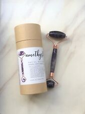Honey Bell Amethyst Facial Roller *Reduce Puffiness & Wrinkle* Retail $34