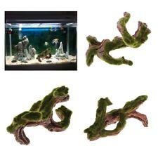 Resin Tree Trunk Aquarium Ornament Root Wood Drift Decoration for Fish Tank