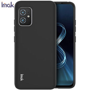 For Asus Zenfone 8, IMAK Luxury Shockproof Sandy Frosted Matte Soft Cover Case