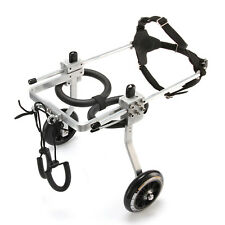 Large Size - Aluminum Pet Dog Wheelchair To Make Handicapped Large Pet Dog Walk
