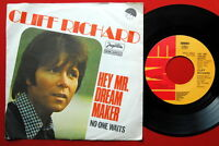 """CLIFF RICHARD HEY MR. DREAM MAKER 1977 DIFFERENT LABEL RARE EXYU 7""""PS"""