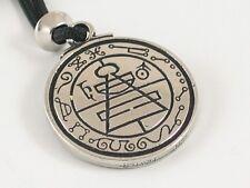 Secret Seal of Solomon, Handmade pewter pendant, Protection from Evil