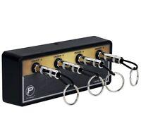 PlugInz Jack Rack The Legato Guitar Amplifier Jack 4 Input Plug Key Holder -NEW