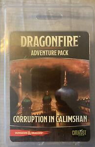 D&D Dragonfire DBG Adventures Corruption in Calimshan *NEW* **FAST SHIP**