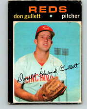 (HCW) 1971 O-Pee-Chee MLB #124 Don Gullett RC Rookie Cincinnati RedsV10871