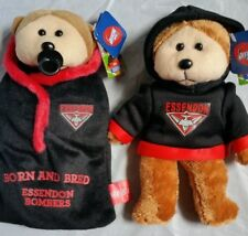 ESSENDON BOMBERS Official AFL Beanie Bears (2 Styles To Choose From)