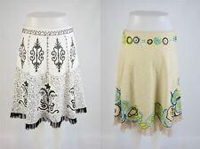 CHRISTOPHER FISCHER Embellished Skirts x2, UK 8 US 4 EU 36