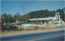 1950s postcard - Lake View Motel, Hwy.15, Hartsville, South Carolina