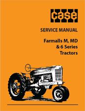 CASE IH Farmall M MD 6 Series Tractors Repair Service Manual