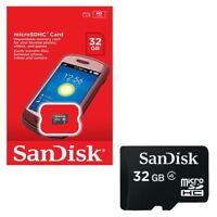 Sandisk 32GB Micro SD SDHC Memory Card for Mobile Phones and Tablets, Cameras